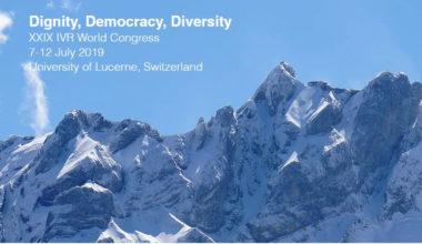 Académicos de la Facultad de Derecho participan en Congreso IVR de Filosofía del Derecho en Lucerna